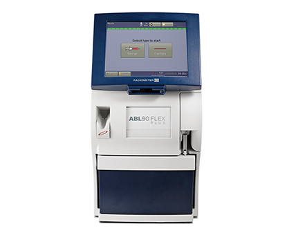 ABL800 FLEX blood gas analyzer - Radiometer